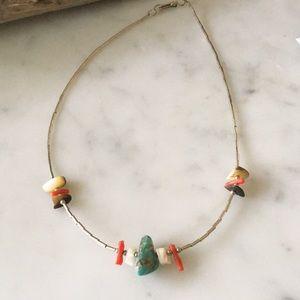 Vintage 70's Southwestern Choker Necklace